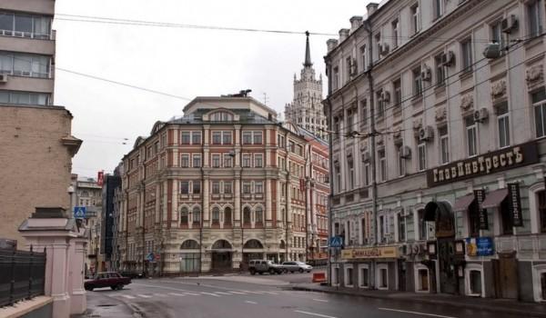 С 6 июня по 15 июля 2015 года будет перекрыта улица Мясницкая от Бульварного кольца до Лубянской площади