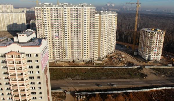 С начала 2016 года в столице введено в эксплуатацию почти 500 тыс. кв. м недвижимости