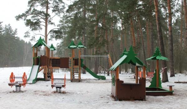 На природной территории «Кузьминки-Люблино» завершены работы по благоустройству
