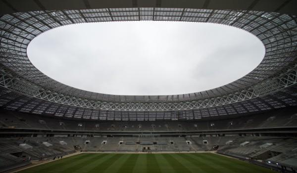 На стадионе «Лужники» создадут высококачественную систему спортивного света