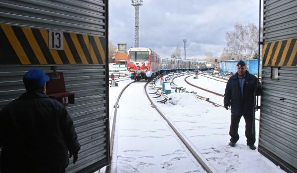 Рабочие приступили ко второму этапу строительства электродепо «Нижегородское» Московского метрополитена