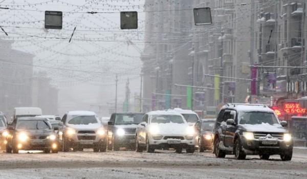 ЦОДД призывает водителей быть внимательнее на дорогах из-за ожидаемого снегопада