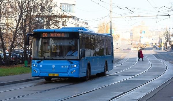 Более 700 млн пассажиров перевез наземный городской транспорт в Москве с начала года