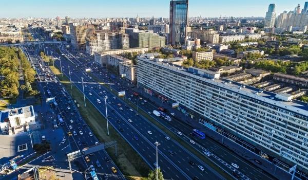 Собянин рассказал о благоустройстве Ленинского проспекта