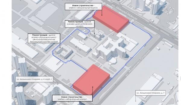 В рамках развития РУДН появятся два новых учебно-лабораторных корпуса