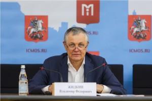 Пресс-конференция Владимира Жидкина