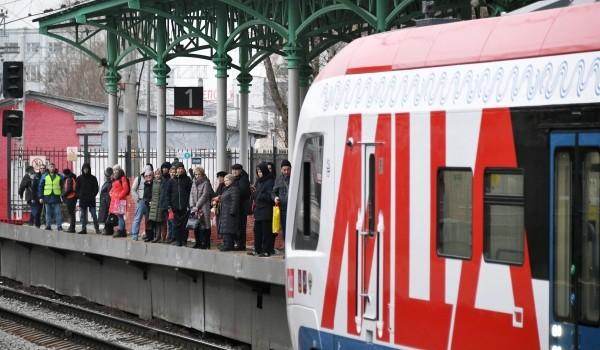 19 августа откроется третья новая платформа нас станции «Апрелевка» будущего МЦД-4
