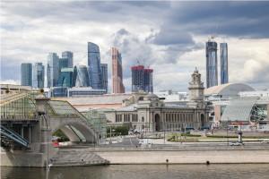 Киевская набережная после реконструкции