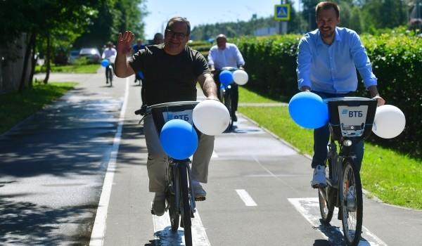 Депутат Мосгордумы Киселева: Хорошая погода в столице позволит продлить сезон работы велопроката