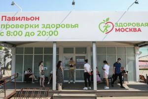 Более 2 млн медицинских манипуляций провели в павильонах «Здоровая Москва» с 11 мая