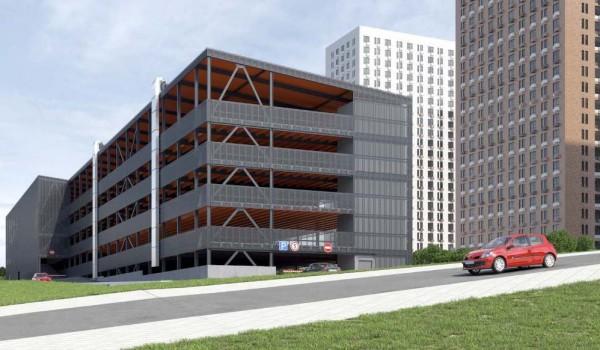 Более 170 машино-мест в домовых паркингах арендовали москвичи у города с начала года