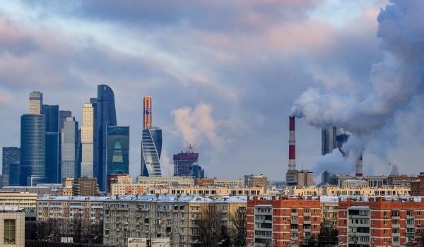 Отопление включили более чем в 50% жилых домов и 63% социальных объектов Москвы