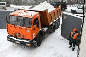 В Москве к работе в осенне-зимний период подготовили 56 снегоплавильных пунктов