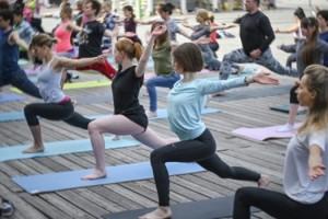 Марафон «Йога трансформация» пройдет в парке Кузьминки