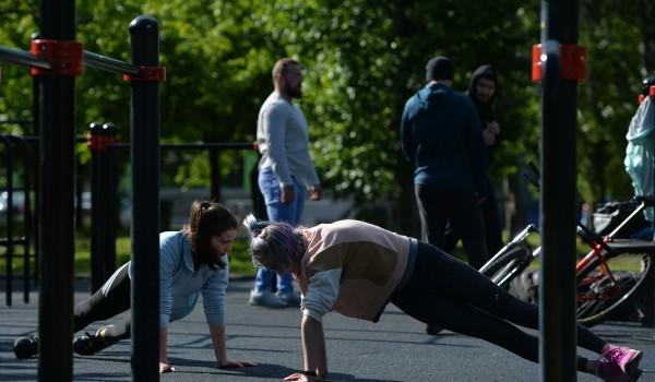 В парке «Яуза» появится современная площадка для воркаута в стиле «русский ниндзя»