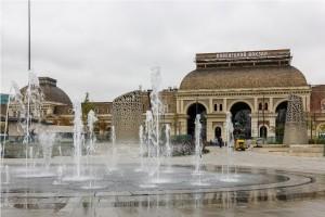 Площадь Павелецкого вокзала после реставрации